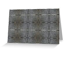 Can tabs / pull-rings woven together Greeting Card