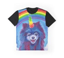 Rainbow Pomicorn Graphic T-Shirt