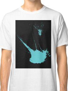 Aqua paint splash Classic T-Shirt
