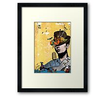 Folk and country music Framed Print