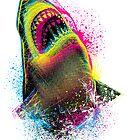 Cmyk Shark by moncheng