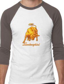 BULL AND LAMBORGHINI Men's Baseball ¾ T-Shirt