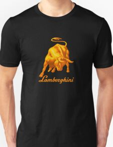 BULL AND LAMBORGHINI Unisex T-Shirt