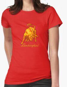 BULL AND LAMBORGHINI Womens Fitted T-Shirt