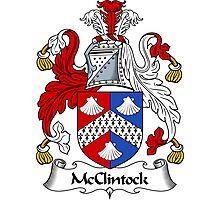 McClintock Coat of Arms / McClintock Family Crest Photographic Print