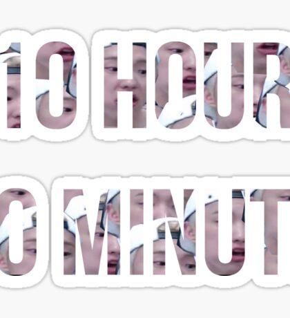 10 Hour 10 Minute-Hoshi Sticker
