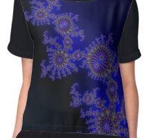 tall, dark and handsome in the sense of elegance Chiffon Top