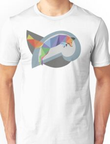 Colourful Leaping Fox Unisex T-Shirt