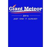 Giant Meteor 2016 Photographic Print