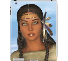 Native American Woman iPad Case/Skin