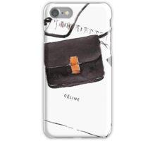 Black bag {Celine} #FASHION #CELINE iPhone Case/Skin