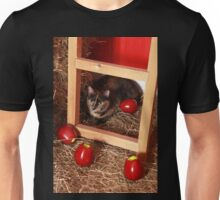 Cat in a Barn Unisex T-Shirt