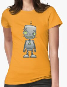 Silly Robot Womens Fitted T-Shirt
