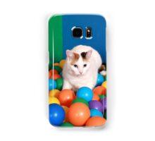Cat Playing in balls Samsung Galaxy Case/Skin