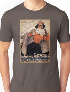 French Vintage Poster ca. 1890 Restored Unisex T-Shirt