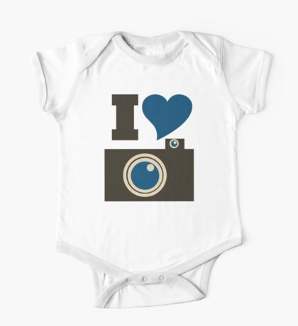 I love photography One Piece - Short Sleeve