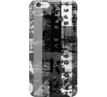 Distorted Alphabet iPhone Case/Skin