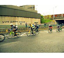 cyclists Photographic Print