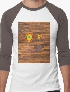 Plank Face Men's Baseball ¾ T-Shirt