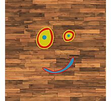 Plank Face Photographic Print