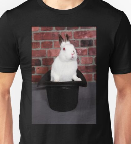 Rabbit out of a hat Unisex T-Shirt