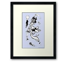 Imps and Potions Framed Print