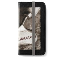 I Love Archaeology  iPhone Wallet/Case/Skin