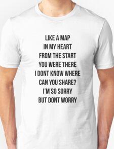 Like A Map Joshua  Unisex T-Shirt