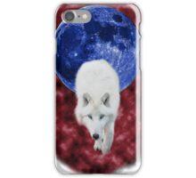 Red mist wolf iPhone Case/Skin