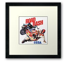 Road Rash - Sega Genesis  Framed Print