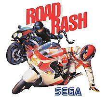 Road Rash - Sega Genesis  Photographic Print