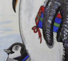 Celebrating Penguins Sticker
