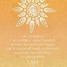 Solar Plexus Chakra Affirmation by CarlyMarie