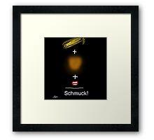 Trump = Schmuck by Roger Pickar, Goofy America Framed Print