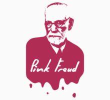 Pink Freud Baby Tee