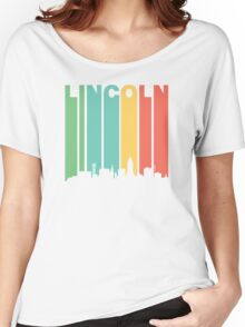 Vintage Lincoln Cityscape Women's Relaxed Fit T-Shirt