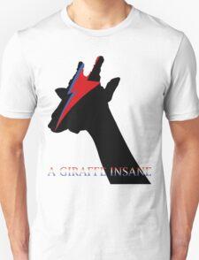 A Giraffe Insane Unisex T-Shirt