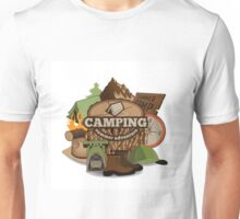 Camping insignia Unisex T-Shirt