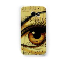 Music Eye Samsung Galaxy Case/Skin