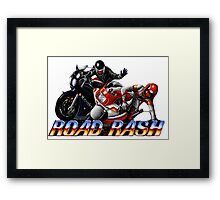 Road Rash - Graphic  Framed Print