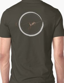 Black Plus On White Unisex T-Shirt