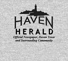 Haven Herald News Black Logo Unisex T-Shirt
