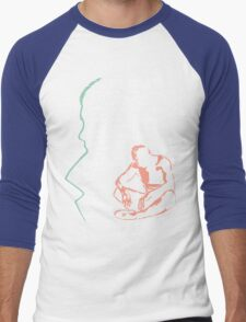 He Saved My Life Men's Baseball ¾ T-Shirt