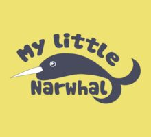 My Little narwhal Baby Tee