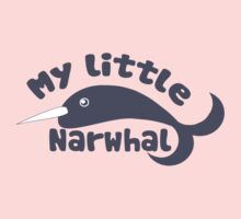 My Little narwhal Kids Tee