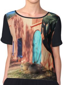 Colors Of The Desert Southwest Chiffon Top