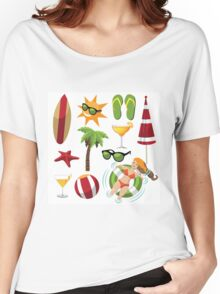 Everything you need for summer fun Women's Relaxed Fit T-Shirt
