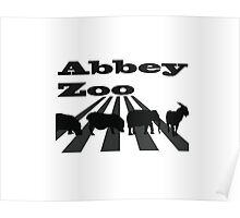 Abbey Zoo Poster