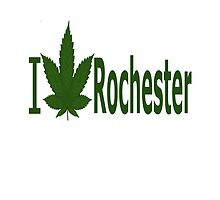 I Love Rochester  by Ganjastan