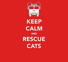 Keep calm and rescue cats Unisex T-Shirt